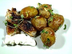 Prøv også Stekt uer med nypoteter og hvitløk.