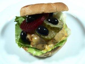 Prøv også Hjemmelagde burgere med chorizo og svinekjøttdeig.