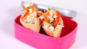 Prøv også Pitabrød med rekesalat.