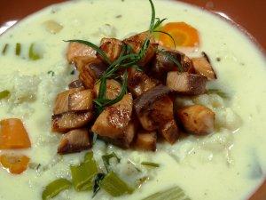 Prøv også Blomkålsuppe med laks.