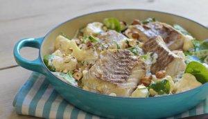 Prøv også Seifilet med stekt blomkål og spinat.