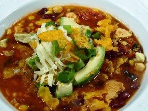 Prøv også Tortillasuppe med kylling.