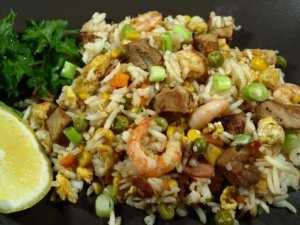 Prøv også Yang Chow stekt ris.