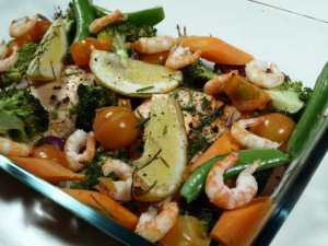 Prøv også Orientalsk laks med brokkoli.