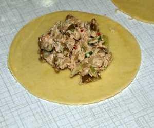 Prøv også Empanadas deig.