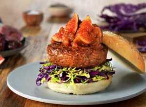 Prøv også Burger med fiken- og daddelchutney.