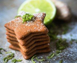 Prøv også Pepperkaker med ingefær og lime.
