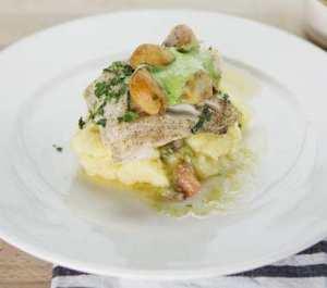 Prøv også Ovnsbakt torskefilet med potetmos og klippfisk.