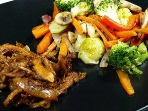 Prøv også Kalkuncurry med grønnsaker.