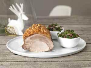Prøv også Svinekam med grønnkålsalat.