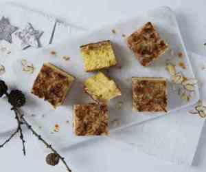 Prøv også Appelsinkake med marsipan og sprøtt lokk.