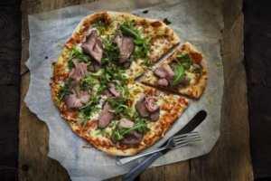 Prøv også Pizza med reinsdyrstek.
