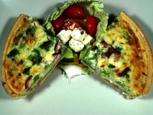Prøv også Pai med brokkoli og skinke.