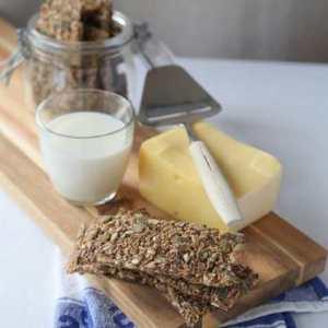 Prøv også Knekkebrød med rug og kli.