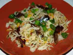 Prøv også Stekt ris med røkt makrell.