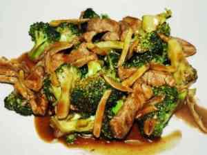 Prøv også Biffkjøtt i wok med brokkoli og ingefær.