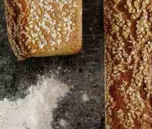 Prøv også Grovbrød med bygg og havre.
