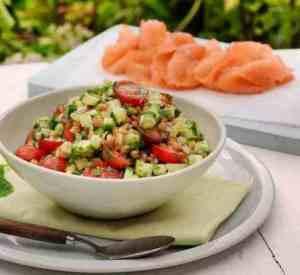 Prøv også Røkt laks med linsesalat.
