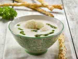Prøv også Blomkålsuppe med persilleolje.