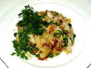 Prøv også Thai stekt ris med ananas.