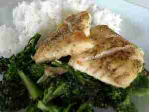 Prøv også Stekt fiskefilet med brokkoli.