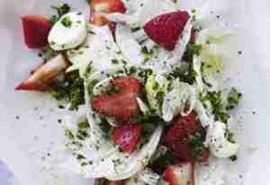 Prøv også Fennikelsalat med jordbær og persille.