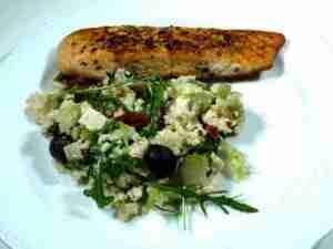 Prøv også Couscous salat med ørret.