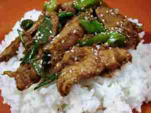 Prøv også Enkel spicy mongolsk biff.
