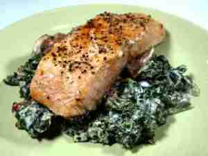 Prøv også Stekt fisk med stuet grønnkål.