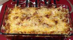 Prøv også Roses spesial lasagne.