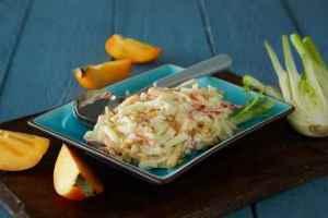 Prøv også Kremet persimon- og fennikelsalat.