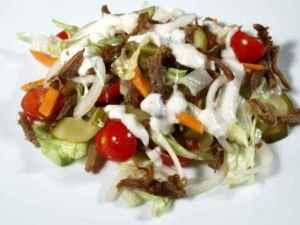 Prøv også Krydret ribbesalat.