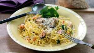 Prøv også Spaghetti med blåskjell.
