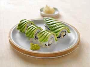 Prøv også Dragemaki sushi med torsk.