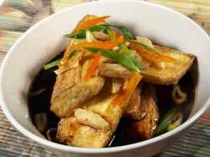 Prøv også Tofu med Japansk smak og sprø ingefær.