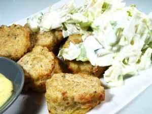 Prøv også Torskeboller med verdens enkleste salat.