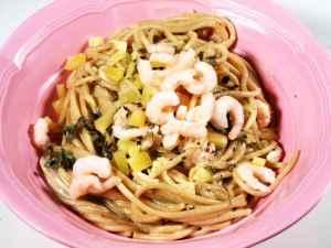Prøv også Linguini med reker i kremet saus.