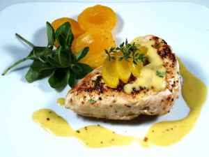 Prøv også Stekt kyllingbryst med aprikossaus.
