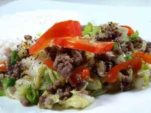 Prøv også Spisskål med kjøttdeig.