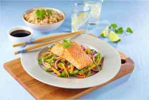 Prøv også Asiatisk ørret med wokede grønnsaker.