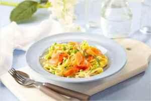 Prøv også Røkt ørret med pasta.