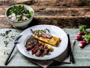 Prøv også Mørbradbiff med nøttebrunt soyasmør.