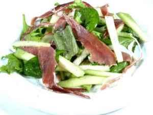 Prøv også Spinatsalat med melon.