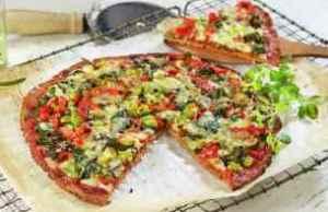 Prøv også Blomkålpizza med grønnsaker.