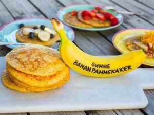 Prøv også Grove bananpannekaker.