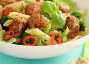 Prøv også Pasta og kjøttboller.