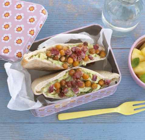 Prøv også Pitabrød med guacamole.
