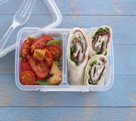 Prøv også Wrap med salami og kremost.