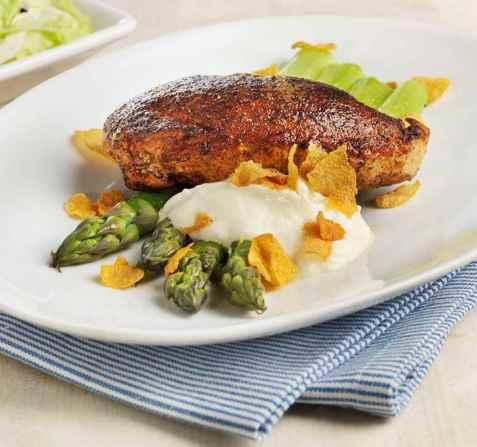 Prøv også Paprikakylling med asparges.