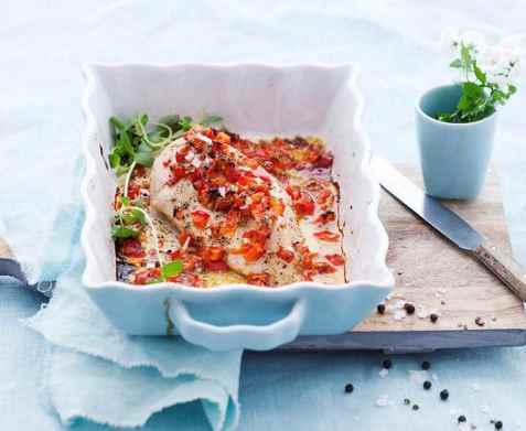 Prøv også Kyllingfilet med sitron og paprika.